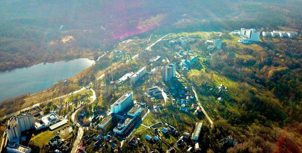 View of the sanatorium