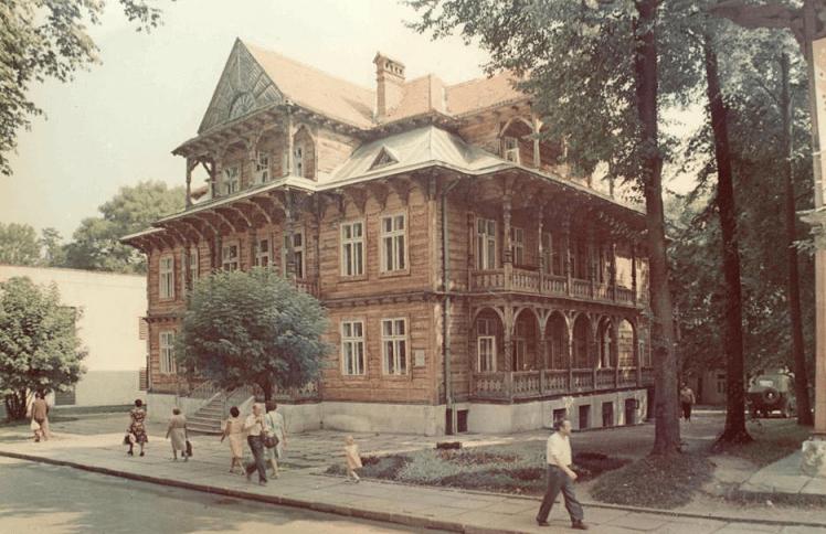 History of Truskavets